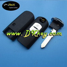 High quality 2 button smart key cover for smart card mazda car key mazda smart key