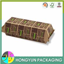 china supplier food grade paper hot dog box