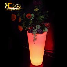 Modern popular led floor lamp large flower pot light