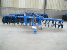 Agricultural machinery offset disc harrow for big four wheel tractor
