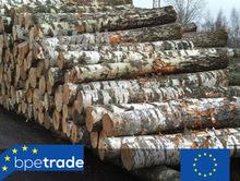 Birch pulpwood