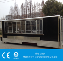 The best selling Street food mobile van with CE