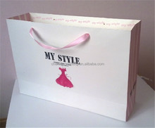 Vogue Custom Paper Shopping Bag,Custom Paper Bag,Paper Kraft bag