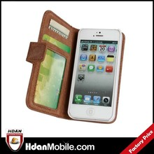 Case Cover First Layer wallet leather for iphone 5s full case cover