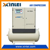 XLAM15AT-SS1 11kw air compressor for drilling rig with air tank