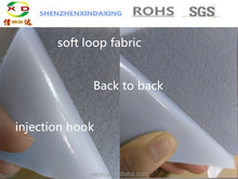 Soft Back to Back Velcro strap/double side injection Hook and soft Loop