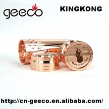 KING KONG COPPER MECHANICAL MOD 26650 vaporizer Top Quality 1:1 CLONE