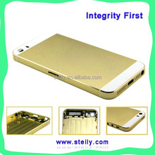 China Manufacturer Supply High Quality For iPhone 5S Back Housing, For iPhone 5S Back Cover Housing, Gray/Golden/Silvery colors