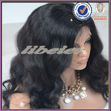 Can be dyed factory price 100 virgin hair brazilian full lace wig