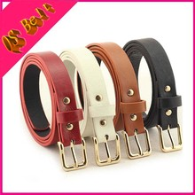 Women's Wild Retro Pu Leather Retro Belt Guchi GG Ice Yiwu Ms. Pin Buckle Imitation Leather Belt Chastity Belts For Girls