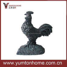 New design garden hen/ dog/ eagle animal resin figurine