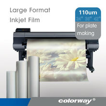 "INSTANT DRY Silk Screen Clear Film Positives Rolls 13"" 17"" 24"" 36"" 44"" 60"" x100'"