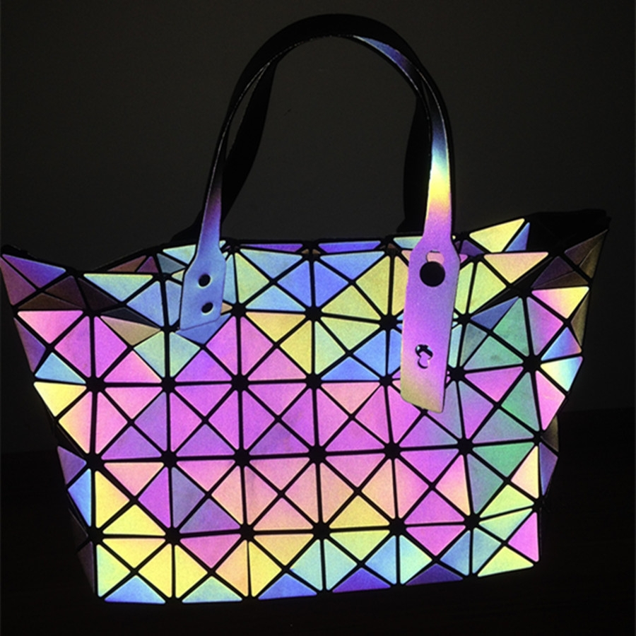 Reflective iridescent leather fabric