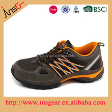 insgear china shoes factory new design best waterproof hiking shoes for men
