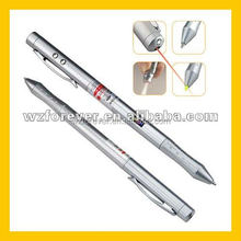 4 in 1 Red Laser Pointer PDA Pen With LED Light
