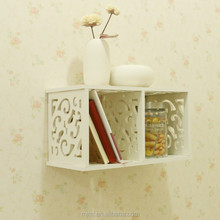 China waterproof plastic decoration wall shelves