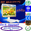 "All in one pc 23.6""LED monitor DIY computer hardware AIO pc case easy assembly"
