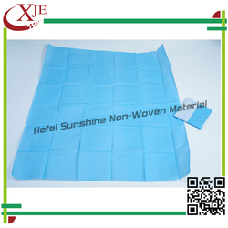 China Manufacture SMS Nonwoven Draw Sheet Cover/Drape Sheet