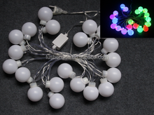 100 Blue Ball LED with 33 Feet String Christmas Xmas Lights, Ideal for Christmas, Party, Weddings