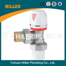 1/2 Made in China excellent quality competitive price angle type Manual Temp. Control Valve,Yuhuan Miller ML-6006