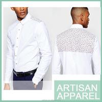 wholesale new pattern shirts bulk plain white shirts china