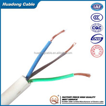1.5mm 2.5mm 4mm 6mm Electric Copper Conductor PVC Coated Wire Wiring Cable