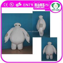 2015 HI-CE Top sale big hero 6 baymax mascot costume
