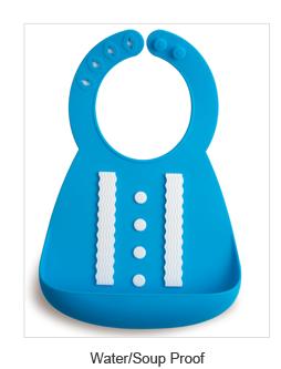 FDA LFGB Direto Da Fábrica 2016 nova promoção venda Quente Bonito Silicone À Prova D' Água Bebê Bib J121