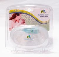 Hot Sale Silicone BPA FREE Baby manual Vacuum Nasal Aspirator