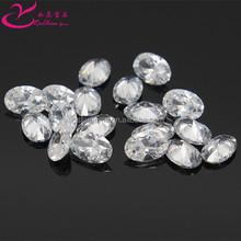 AAA quality clear oval brazil semi precious stones wholesale