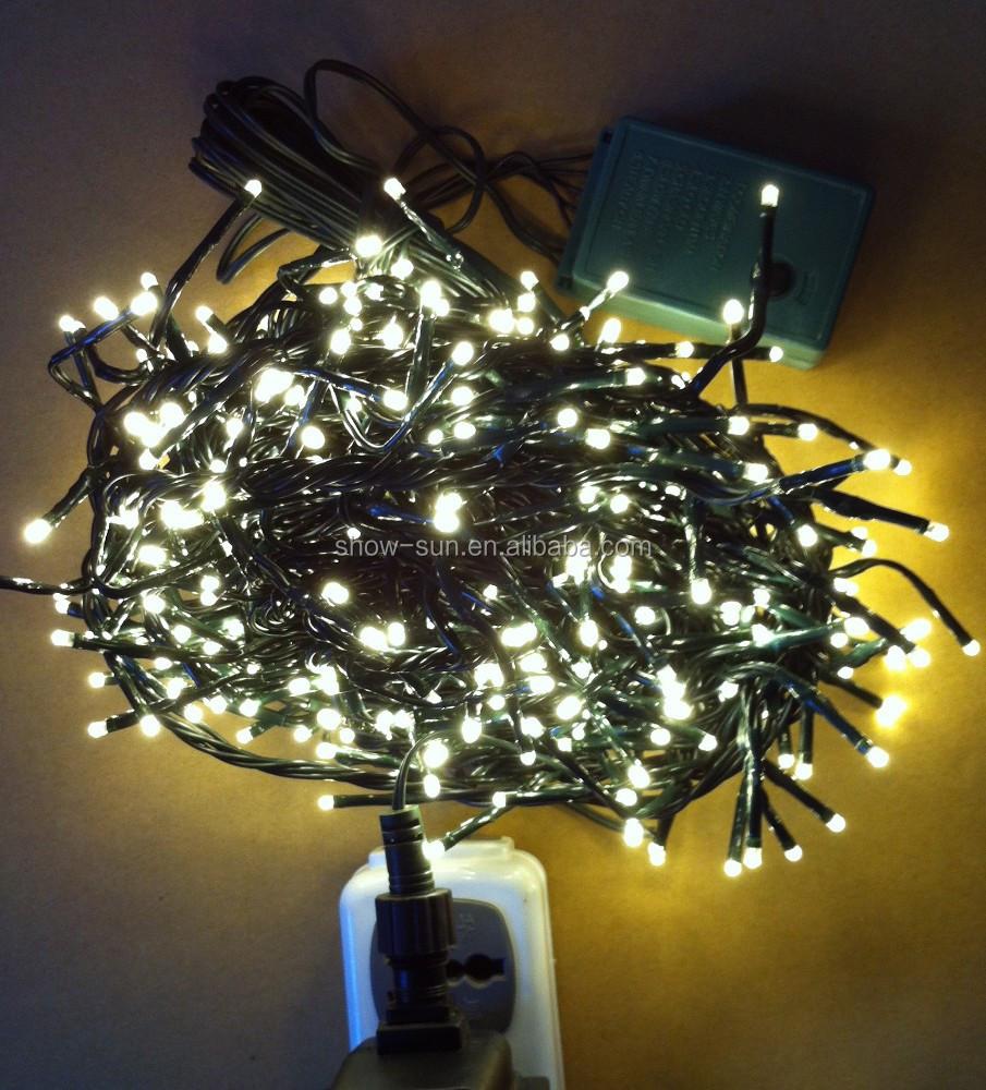 80 Led Chasing String Christmas Lights Warm-white - Buy Christmas Lights,Color Changing Led ...