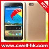 Alps 4X cheap big screen android phone MTK6582 Quad Core 5.5 Inch QHD Screen 5.0MP Back Camera WIFI GPS