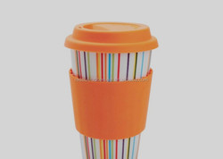 Food Grade silicone sleeve for coffee cup