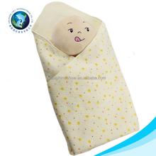 Suave lindo peluche de felpa manta de bebé y renacer muñeca muñeca de juguete del partido