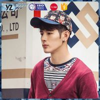 New arrival low price short brim snapback hat promotional on sale