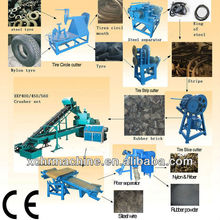 recycle rubber tyres!tire recycling machine for making rubber powder