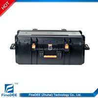 604026 IP67 Waterproof Hard Back Laptop Case With Padded Foam Liner