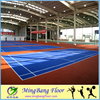 Wholesale PP interlock flooring removable basketball courts