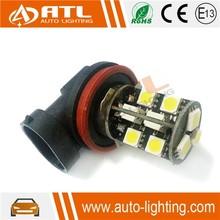 Wholesale 12V 2.4-2.6W car led 5050, CANBUS car led light 9005/9006 18smd, non-polarity car led light 9006 5050 auto fog light