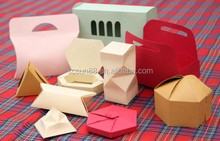 High quality paper box with custom logo for gift manufacture