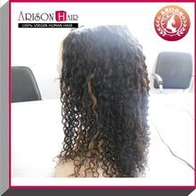 wholesale stock curly virgin malaysian u part wig