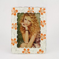 popular picture photo frame/new ceramic photo frame /love heart photo frames HQ070001-46