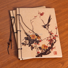 2015 creative trends fashion soft copybook office business China China drawing book blank pages 70 sheets Kraft Sketchbook