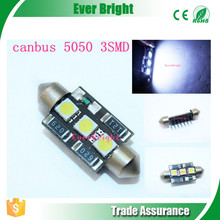 36mm / 39mm 5050 3SMD 3Chips Led Can-bus Error Free Led Festoon Light hanging led lights led festoon light