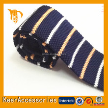 popular different kinds high quality polyester knitted tie