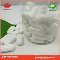 OEM nutritional magnesium citrate vitamin B6 supplement