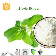 Hot sale natural sweetener stevia sweeteners / stevia extract / stevia powder with Steviosides RA 60%