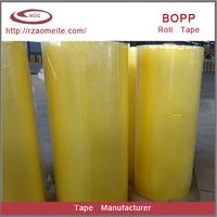 bopp film materials single sided adhesive tape jumbo roll