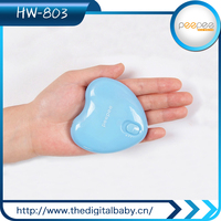 Gold Challenge Charming Gift Handy Electric Heater Hand Warmer &Lighting &Charging Creative Combination