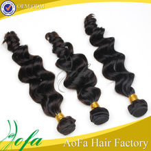 Factory for 18 years various textures all 100% human truly hair indian remy brazilian wave weave